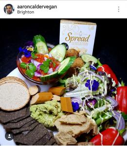good carma foods, vegan sandwich spread, dairy free cream cheese